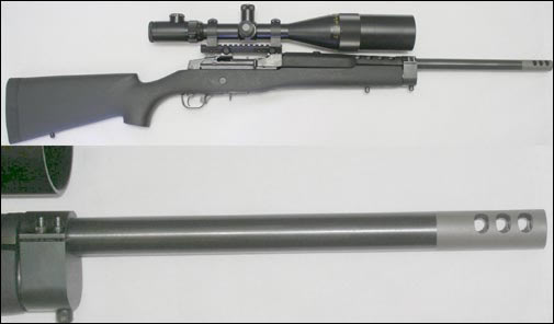 Ruger Mini 14 or Mini 30 Stainless Steel Ranch Rifle