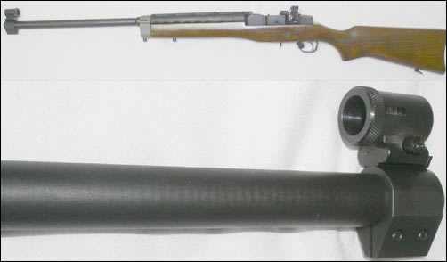 Ruger Mini 14 or Mini 30 Black Steel Ranch Rifle